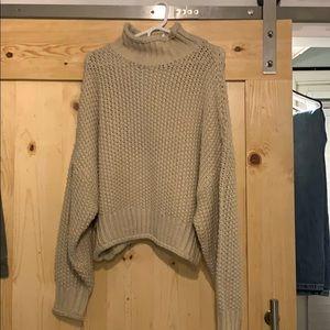 Turtle neck heavy sweater